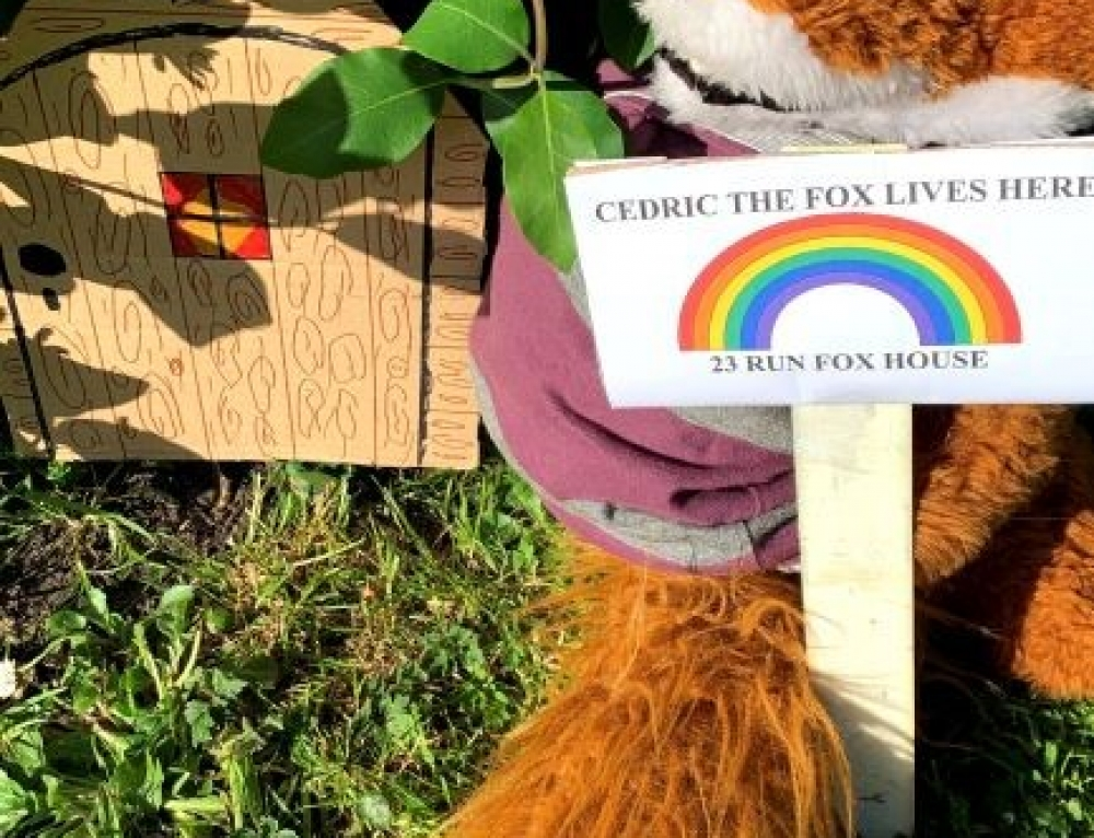 A letter from Cedric the Fox